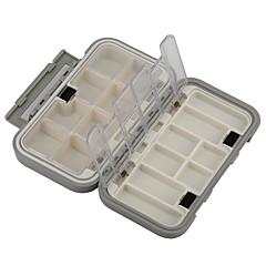 billige Fiskegrejer Kasser-Fiskegrejer Kasser Utstyrskasse Vanntett Multifunktion 1 Brett Plast 16 4.5