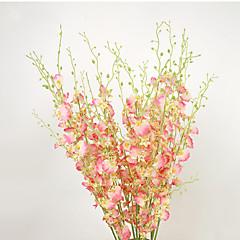 billige Kunstige blomster-Kunstige blomster 1 Gren Pastorale Stilen Soleie Bordblomst
