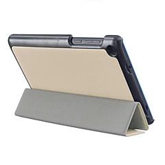 """billiga Laptop Bags-Fodral med stativ Helfodral fodral Auto Sömn/Uppvakning PU Läder Fallet täcker för 7 """" Lenovo"""