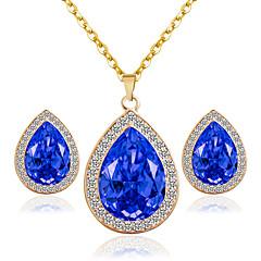 levne Sady šperků-Dámské Svatební šperky Soupravy Svatební Párty Küpeler Náhrdelníky