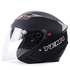 ハーフヘルメット 高通気性 / 曇り止め ABS樹脂 画像参照 33*26*26 オートバイのヘルメット