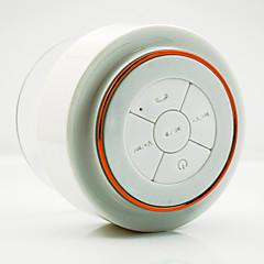 F012 防水 Bluetooth パータブル ワイヤレス ブックシェルフスピーカー ゴールド オレンジ レッド ブルー
