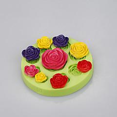 billige Bakeredskap-Bakeware verktøy Silikon Økovennlig Non-Stick Håndtak Kake Til Småkake For Småkake Pastry Tool