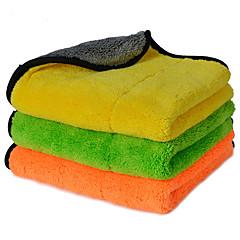 autoyouth espessura super macios panos de limpeza de microfibra carro microfibra cuidado de carro de cera de polimento detalhando toalhas