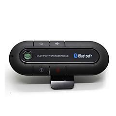 kit bluetooth sem fio bluetooth magro magnética conjunto veicular viva-voz viva-voz viseira clipe Bluetooth aux de alta qualidade