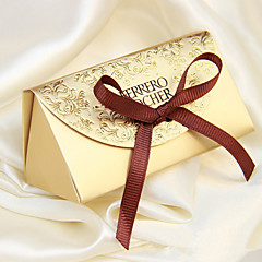 Creative Card Paper Favor Holder With Favor Boxes-12 Wedding Favors