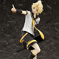 Fantasias Kagamine Len PVC 22cm Figuras de Ação Anime modelo Brinquedos boneca Toy