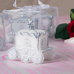 Beautiful The Pumpkin Carriage Candles Elegant Wedding Favors