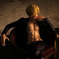 Anime Toimintahahmot Innoittamana One Piece Sanji 20 CM Malli lelut Doll Toy