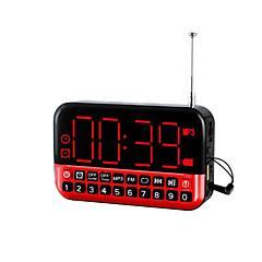 Χαμηλού Κόστους Ράδιο-πολυλειτουργικό φορητό οδήγησε ρολόι-ραδιόφωνο