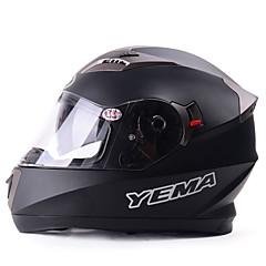 tanie Kaski i maski-YEMA Kask pełny Doroślu Dla obu płci Kask motocyklowy Oddychający