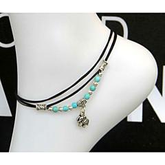 Women's Anklet/Bracelet Jewelry Pearl Love Beaded European Handmade Heart Jewelry For Wedding