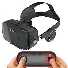 ブルートゥースリモートゲームパッドで4.7から6.2インチのスマートフォンのための黒の統合イヤホンバーチャルリアリティヘッドセット