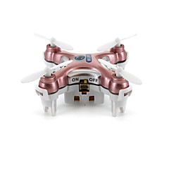 billige Fjernstyrte quadcoptere og multirotorer-RC Drone Cheerson CX-10W 4 Kanaler 6 Akse 2.4G Med HD-kamera Fjernstyrt quadkopter LED Lys / Tilgang Real-Tid Videooptakelse Fjernstyrt