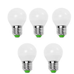 cheap Lamps&Lights-EXUP® 5pcs 9W 900lm E14 E26 / E27 LED Globe Bulbs G45 12 LED Beads SMD 2835 Decorative Warm White Cold White 110-130V 220-240V