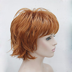 cheap Wigs & Hair Pieces-Synthetic Wig Women's Wavy Layered Haircut / With Bangs Synthetic Hair Wig Capless 130A 15BT613 V6 Hivision