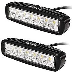 kawell® 18w led valo baari 90 asteen tulva beam light ATV / jeeppi / vene / neliveto / kuorma / auto / mönkijät valo off road vedenpitävä