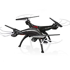 RC Drone SYMA X5SW 4-kanaals 6 AS 2.4G Met 2.0MP HD-camera RC quadcopter FPV LED-verlichting Terugkeer Via 1 Toets Headless-modus 360