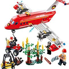 billiga Leksaker och spel-GUDI Actionfigurer / Byggklossar / Utbildningsleksak Flygplan / Gaffeltruck Flickor Present