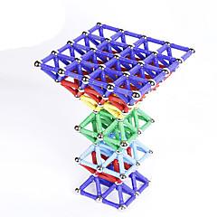 tanie Klocki magnetyczne-60 pcs Zabawki magnetyczne Blok magnetyczny Magnetyczne pałeczki Klocki Metalowy Plastik Nowość Dla chłopców Dla dziewczynek Zabawki Prezent