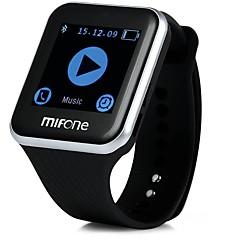 tanie Inteligentne zegarki-Inteligentny zegarek na iOS / Android GPS / Odbieranie bez użycia rąk / Wideo / Kamera / aparat / Dźwięk Czasomierz / Stoper / Rejestrator aktywności fizycznej / Rejestrator snu / Budzik / 128 MB