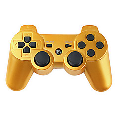 cheap PS3 Accessories-Wireless Controller for PS3 (Gold)