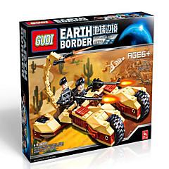 Akční figurky a plyšáci Stavební bloky Hračky Tank Robot Chlapecké Dívčí Pieces