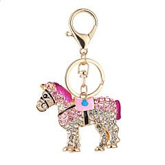 de nieuwe paard hot mode handtas portemonnee sleutelhanger ma auto te stellen vijzel sleutelhanger sluiting hanger gift