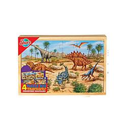 tanie Gry i puzzle-Puzzle Zabawka edukacyjna Nowość Drewno Dla chłopców Dla dziewczynek Zabawki Prezent