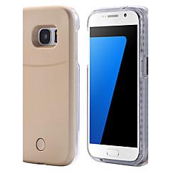 Для Samsung Galaxy S7 Edge Чехлы панели LED Задняя крышка Кейс для Один цвет Твердый PC для Samsung S7 edge S7 S6 edge plus S6 edge S6