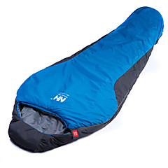 寝袋 マミー型 -15-5°C 防湿 携帯用 速乾性 防風 通気性 215X80 狩猟 ハイキング キャンピング 旅行 屋外 シングル 幅150 x 長さ200cm
