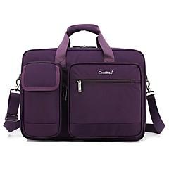 coolbell 17,3 inch laptop messenger bag multifunctionele aktetas meerdere compartimenten handtas voor mannen cb-5002