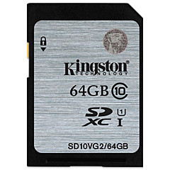 baratos Cartões de Memória-Kingston 64GB Cartão SD cartão de memória UHS-I U1 class10
