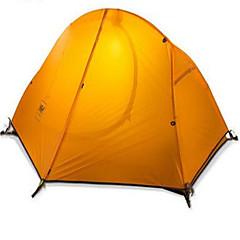 Naturehike 1 person Telt Beskyttelse & Presenning Dobbelt camping Tent Ett Rom Turtelt Velventilert Vanntett Fort Tørring Ultraviolet