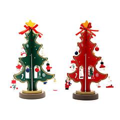 저렴한 -장식용품 크리스마스 장식 크리스마스 파티 제품 크리스마스 트리 장난감 삼각형 나무 1 조각 크리스마스 선물