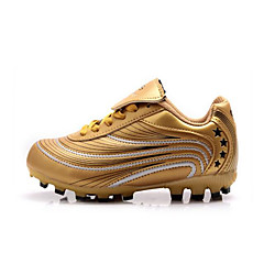 נעלי ספורט נעלי כדורגל לילדים נגד החלקה חסין בפני שחיקה קל במיוחד (UL) טבע עור PVC גומי ריצה כדורגל