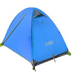 FLYTOP 2 osoby Stříška Dvojitý Camping Tent jeden pokoj Malé stany Zahřívací Odolný proti vlhkosti Dobře větraný Větruvzdorné Odolné vůči