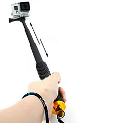 cheap Accessories For GoPro-Telescopic Pole Hand Grips/Finger Grooves Monopod Mount / Holder For Action Camera Gopro 5 Gopro 4 Session Gopro 4 Gopro 3 Gopro 3+ Gopro