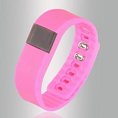 Slimme armbandWaterbestendig Lange stand-by Verbrande calorieën Stappentellers Logboek Oefeningen Gezondheidszorg Sportief Camera Touch