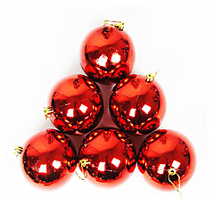 Balls Holiday Decorations Christmas Decorations Christmas Tree Ornaments Christmas Trees Toys Sphere Plastic Pieces Christmas Gift