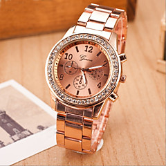 cheap -Women's Fashion Leisure Quartz Strap Watch Steel Belt Wrist Watch(Assorted Colors) Cool Watches Unique Watches