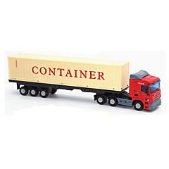 Χαμηλού Κόστους Toy Trucks & Τεχνικά Οχήματα-Παιχνίδια αυτοκίνητα Μοντέλο αυτοκινήτου Εκπαιδευτικό παιχνίδι Φορτηγό Παιχνίδια Πρωτότυπες Προσομοίωση Μουσική & Φως Φορτηγό Μεταλλικό