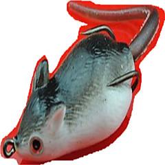billiga Fiskbeten och flugor-1pcs st Mjukt bete / Fiskbete Mus Mjuk plast 3D Sjöfiske / Färskvatten Fiske