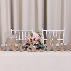 cheap Table Centerpieces-Wood Table Center Pieces - Non-personalized Placecard Holders 3 Winter Spring Summer Fall All Seasons