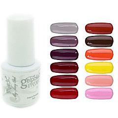 billige Neglelakk og gellakk-Neglelakk UV-Gel 5 1 UV Farge Gel Dypp av langvarig
