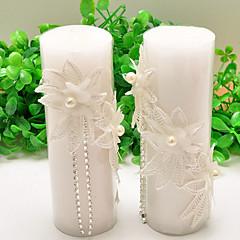 ウェディングキャンドル結婚式の好意& 贈り物クラシックテーマの花のテーマ