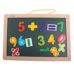 Magnet Toys Toys Novelty Square Wood Pieces Boys' Girls' Christmas Children's Day Gift