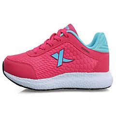 X tep® Baskets Femme Antidérapant Antiusure Respirable Cuir PVC Caoutchouc Course Sport de détente