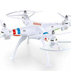 billige Fjernstyrte quadcoptere og multirotorer-RC Drone GW180HW 4 Kanaler 6 Akse 2.4G Med HD-kamera 2.0MP 200 Fjernstyrt quadkopter FPV / LED Lys / En Tast For Retur Fjernstyrt