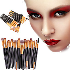 20pcs Makeup Brushes Professional Eyeliner Brush Blush Brush Lip Brush Eyebrow Brush Eyeshadow Brush Concealer Brush Contour Brush Makeup Brush Set Portable / Eco-friendly / Professional Plastic